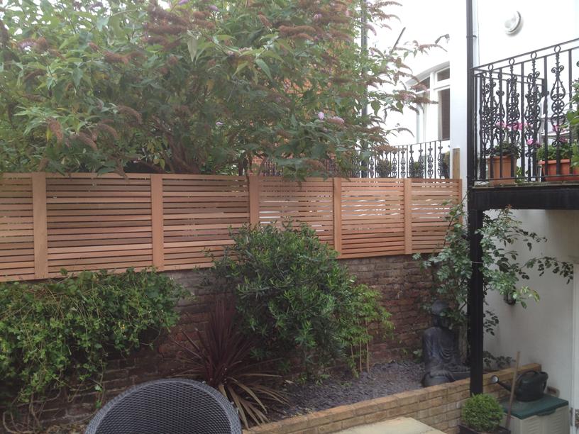 stylish fences west london