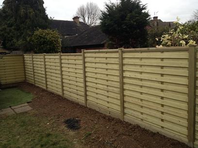 Panel fencing richmond london