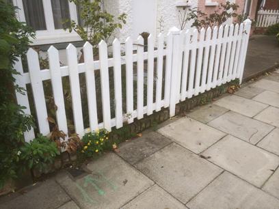 picket fence w3 london