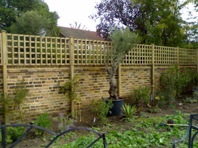 posts bolted to wall 4