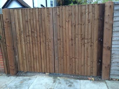 wooden driveway gates ladbroke grove w11 7a